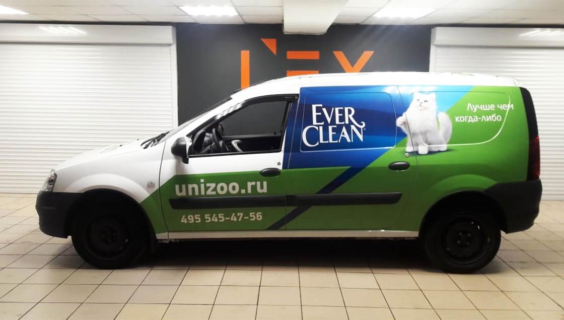 брендирование авто в москве